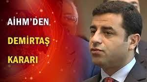 AİHM'den Selahattin Demirtaş kararı - YouTube