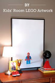 Diy kids room Toy Diy Lego Artwork For Kids Rooms Such Cool Way To Feature What Your Modern Parents Messy Kids Diy Lego Art Modern Parents Messy Kids