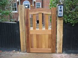 interesting simple wood custom fence designs and wooden gate designs for alluring home