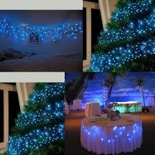 100m 500 led blue white string fairy lights 8 mode xmas tree garden decor l q ebay