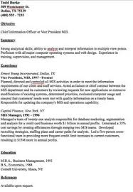 mis resume samples best templates