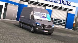 Ets Light Mercedes Mercedes Benz Sprinter Cdi311 2014 Ets2 Mods Euro Truck