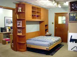 horizontal murphy bed office desk combo wall affordable in you with free portable twin ikea