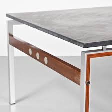 danish coffee table with slate stone top 1960s 8 3 145 00 per piece