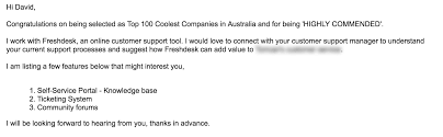 Congratulations Email For New Job Cold Email Template 7 Cold Email Examples That Guarantee A Response