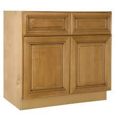 Double Door Base Kitchen Cabinet, 2 Drawers