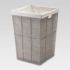Gray Square Laundry Hamper - Threshold
