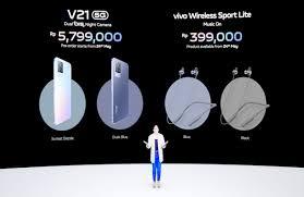 Kamera utama dengan resolusi 48mp mengambil gambar yang bagus, dan kamera depan 8mp dirancang untuk selfie. Officially Launched In Indonesia This Is The Vivo V21 5g Price And Its Advantages Newsy Today