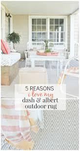 reasons i love my dash  albert outdoor rug