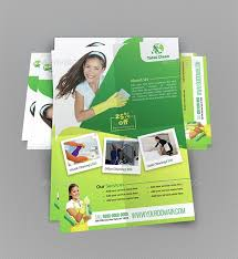 Cleaning Brochure 37 Modern Cleaning Flyer Templates Creatives Psd Ai Eps