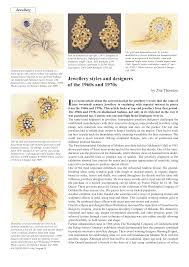 1970s Jewellery Designers Jewellery Styles And Designers Of The 1960s And 1970s