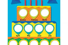 Birthday Chart For Preschool 7 Happy Birthday World