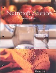 Nutrition Science Unit 1 3 Answer Key International Learning