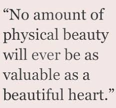 Beauty In Heart Quotes