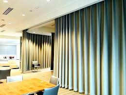 curtains as room divider dividing curtain rod with post set dividers diy