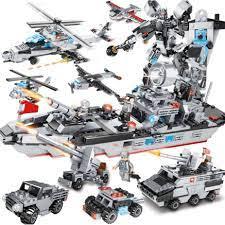 927 CHI TIẾT-HÀNG CHUẨN] BỘ ĐỒ CHƠI XẾP HÌNH LEGO CHIẾN HẠM, Lắp Ghép Xe  Tăng, Robot Chiến Đấu, OTO, Trực Thăng giá cạnh tranh
