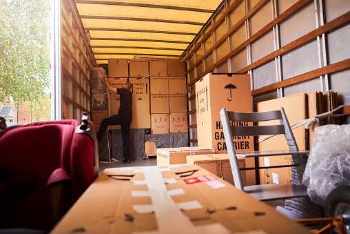 Loading a truck
