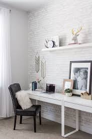 home office white. to build a home office reveal with havenly white