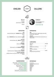 39 Excellents Exemples De Cv De Designers One Day Soon Pinterest