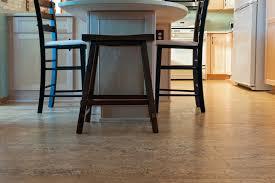 cork floor tiles in the kitchen