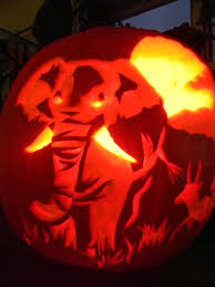 Elephant Pumpkin Carving Pattern Awesome Cute Elephant Pumpkins Wiring Diagrams