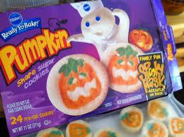 pillsbury halloween sugar cookies. PumpkinFaced Sugar Cookies Inside Pillsbury Halloween