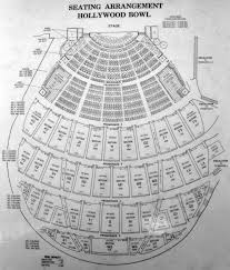 Hollywood Bowl Garden Box Seating Chart Hollywood Bowl Seating Chart With Seat Numbers Awesome