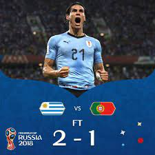 Uruguay 2-1 Portugal Full Highlight Video World Cup 2018 – 18 Final