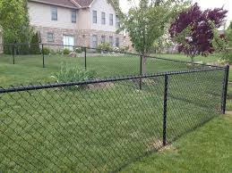 chain link fence bamboo slats. Image Of: Chain Link Fence Anchors Home Bamboo Slats