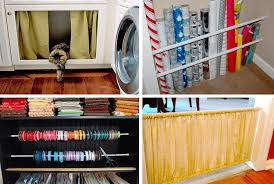 25 crazy clever uses for tension rods