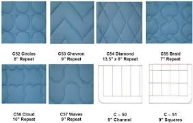 """Norbar Fabrics & Ruffle (3"""") - Adds 3"""" all around standard size comforter. Round Corners  (2). Seam Alignment w/Channel or Square Quilt. Adamdwight.com"""
