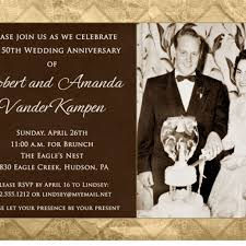 templates 50 cent wedding invitations plus 50 year wedding