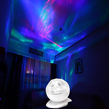 soaiy® sy nl04 multicolor led night light realistic aurora soaiy® sy nl04 multicolor led night light realistic aurora borealis star ocean water led night lightnight lightsdecorative