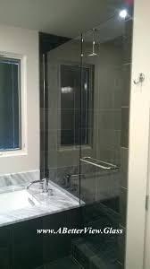 custom glass door our client in ordered this custom glass shower door and installed his self custom glass door
