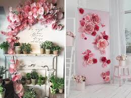 Paper Flower Archway Wedding Backdrops Arches Quirky Parties