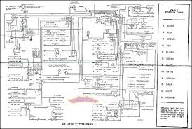 jaguar wiring diagram electrical xke e type 4 2 s2 1969 1971 electrical wiring diagram schematic by jaguar for all 1967 1971 jaguar e type color coding in new condition