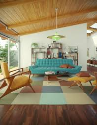 25 Midcentury Living Room Design Ideas Awesome Ideas