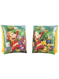 <b>Надувные нарукавники</b> Mickey Mouse <b>23х15см</b> 3-6лет <b>Bestway</b> ...