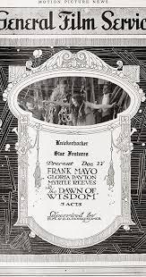 The Dawn of Wisdom (1916) - Myrtle Reeves as Leonore Harris - IMDb