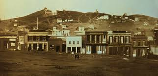 an old image of portsmouth square from 1851