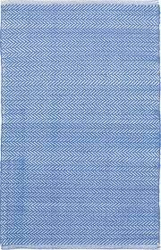 herringbone french blue white indoor