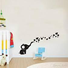 cute elephant bubbles diy vinyl wall art sticker waterproof nursery wall decal for baby room decor on diy wall art for baby room with cute elephant bubbles diy vinyl wall art sticker waterproof nursery
