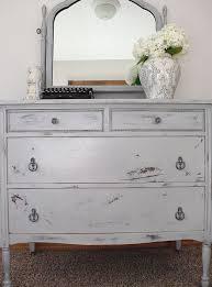 gray distressed furniture. LayeredGrayDresser Intended Gray Distressed Furniture