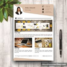 pages cv template cover letter references and portfolio resume template portfolio