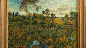 the sunset at montmajour was painted in 1888 the museum has identified photos unveiling the new van gogh