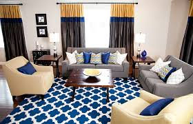 view in gallery a living space for those who love a splash of bold blue