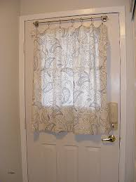 curtains for doors window curtain curtain for door with half window lovely door window curtains to