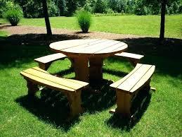 round wooden bench round picnic bench round wooden picnic table picnic table bench covers wedding round wooden bench