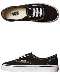 vans boys kids authentic leather bts shoe rubber black 11 for