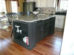 Kitchen Centre Island Designs Picture Of Classic Black Kitchen Island Design With Chairs